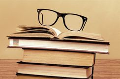Retro books Royalty Free Stock Images