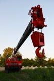 Retro boom crane Stock Photos