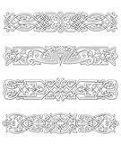 Retro borders and ornaments Royalty Free Stock Photography