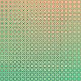 Retro bottoni, modello geometrico del quadro televisivo Immagini Stock
