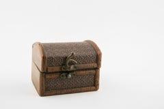 Retro box. Beautiful wooden retro box for decoration Royalty Free Stock Image