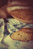 Retro bread set Stock Images