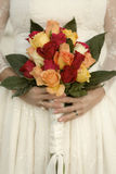 Retro Bridal Bouquet Royalty Free Stock Photo