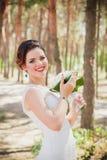 Retro bride Stock Photography