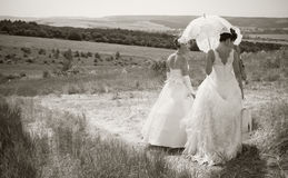 Free Retro Brides Stock Image - 14802221