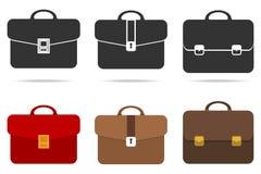 Retro briefcase Stock Image