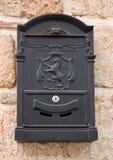 Retro brievenbus royalty-vrije stock foto's