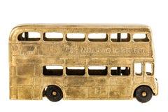 Retro British bus toy Stock Photo