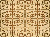 Retro brown akwareli tekstury grunge tła bezszwowa spirala Fotografia Stock