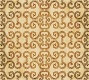 Retro brown akwareli tekstury grunge tła bezszwowa spirala Obraz Royalty Free