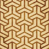 Retro brown cork texture grunge seamless background Polygon 3D T. Riangle Cross Stock Photography