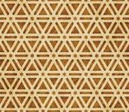 Retro brown islam geometrii wzoru bezszwowego tła wschodni stylowy ornament Zdjęcia Royalty Free