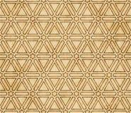 Retro brown islam geometrii wzoru bezszwowego tła wschodni stylowy ornament Fotografia Royalty Free