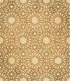 Retro brown islam geometrii wzoru bezszwowego tła wschodni stylowy ornament Obraz Royalty Free