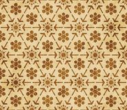 Retro brown Islam seamless geometry pattern background eastern style ornament. A Retro brown Islam seamless geometry pattern background eastern style ornament Royalty Free Stock Photos