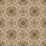 Retro brown pattern Stock Image
