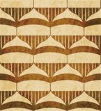 Retro brown watercolor texture grunge seamless background polygo Royalty Free Stock Photography