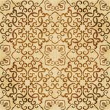 Retro brown watercolor texture grunge seamless background polygo Royalty Free Stock Images