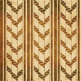 Retro brown watercolor texture grunge seamless background primit. Ive check arrow line Stock Illustration