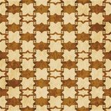 Retro brown watercolor texture grunge seamless background star t. Riangle geometry Stock Image
