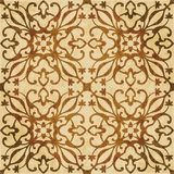 Retro brown watercolor texture grunge seamless background vine s Royalty Free Stock Photography