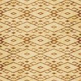 Retro bruine cork textuur grunge naadloze diamant als achtergrond chec vector illustratie