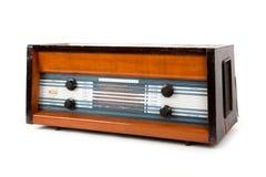 Retro bruine radio Royalty-vrije Stock Afbeeldingen