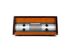 Retro bruine radio Royalty-vrije Stock Foto's