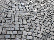 retro brukowiec ulica zdjęcia royalty free