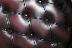 retro brunt läder Royaltyfria Foton