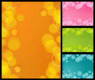 Retro Bubbles Background Stock Images