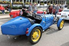 retro bugatti samochód Obraz Stock
