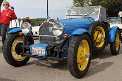 retro bugatti samochód Obrazy Royalty Free
