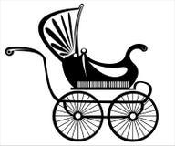 Retro buggy  on white Stock Image