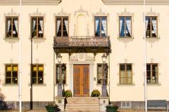 Retro building facade Royalty Free Stock Photos
