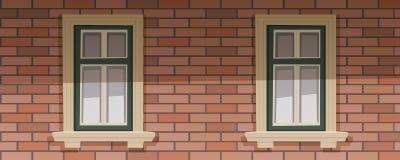 Retro Building Facade Stock Images