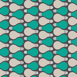 Retor bulb pattern Stock Photos