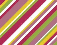 Retro- bunter Streifenhintergrund lizenzfreie abbildung