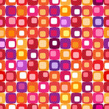 Retro- buntes quadratisches Muster Lizenzfreies Stockfoto