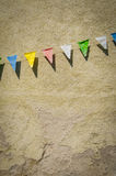 Retro Bunting Royalty Free Stock Images