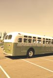 Retro bus. Royalty Free Stock Image