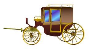 Retro bus Royalty-vrije Stock Fotografie