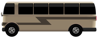 retro bus Stock Photo