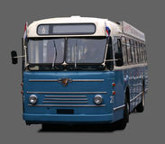The Retro Bus. Retro Bus, isolated background Stock Images