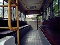 Retro bus inside Stock Photos