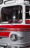 Retro bus. Royalty Free Stock Photos