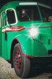 Retro bus. Royalty Free Stock Photo