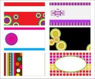 Retro Business Cards / Company Logo Royalty Free Stock Photos