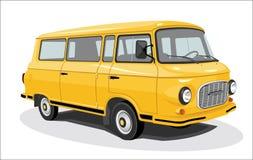 retro buss Royaltyfri Fotografi