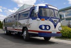 retro buss Royaltyfria Bilder